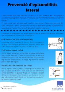prevecio epicondilitis