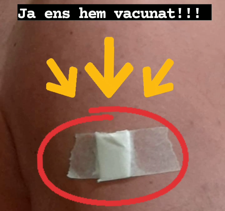 Ja ens hem vacunat!!!!